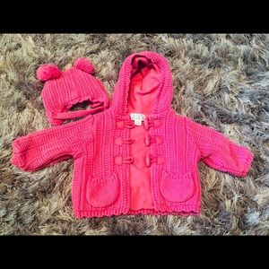 Children's place Babygirl sweater jacket